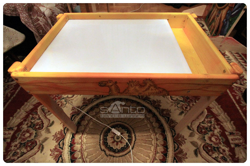 Стол для рисование с песком как сделать
