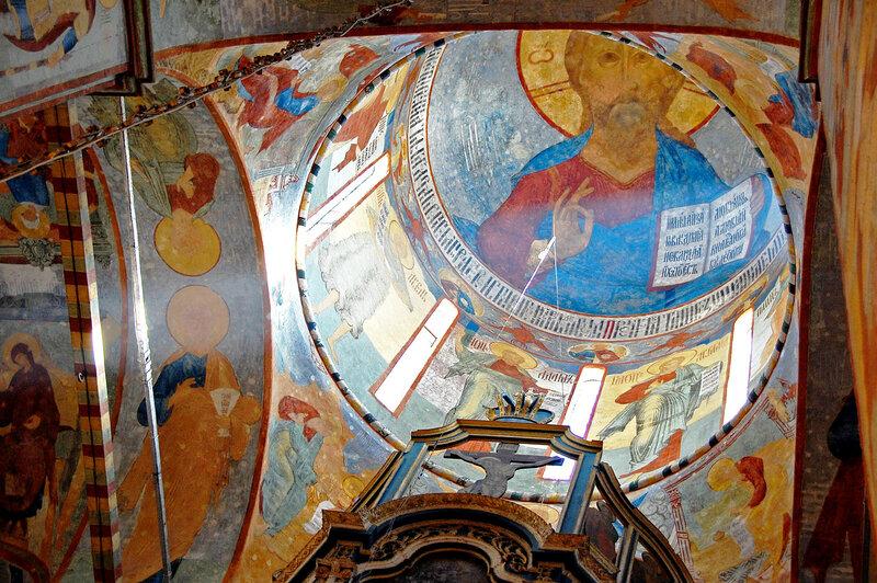Христос Вседержитель Софийского собора Вологды