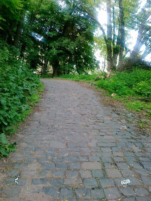 Дорога на площадку обозрения
