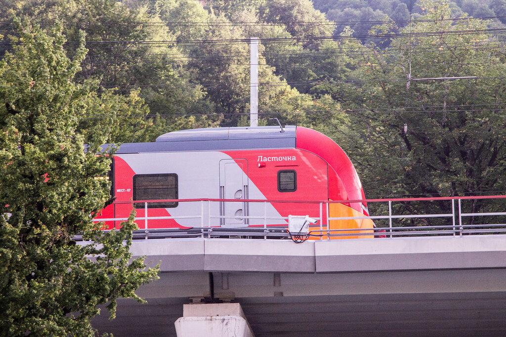 Поезд Ласточка в Сочи