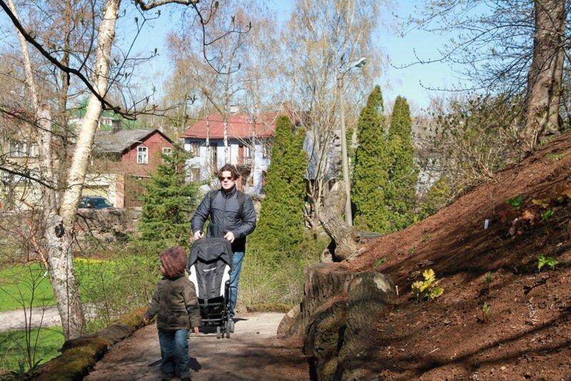 Эстония, Тарту, Ботанический сад