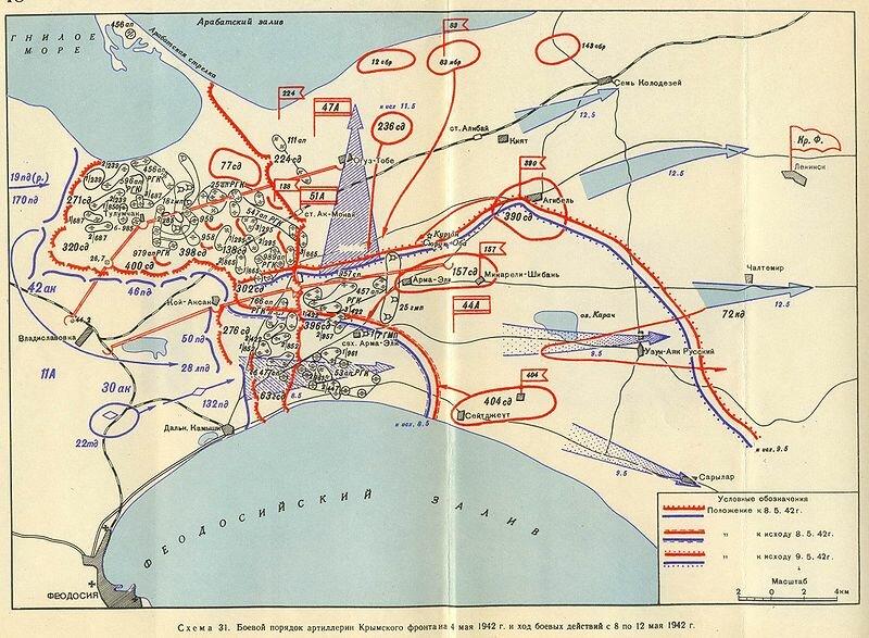 Разгром Крымского фронта и его последующая ликвидация 8—19 мая 1942 года стали одним из звеньев цепи военных...