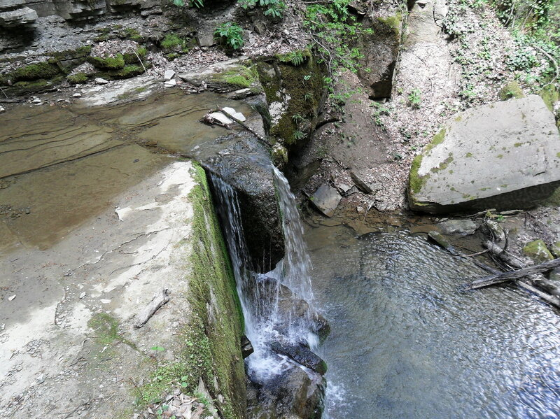 Весной, там где есть водопады