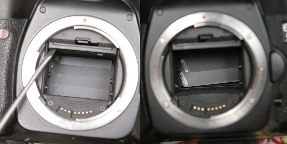 заедает шторка на фотоаппарате доктора лизы двое
