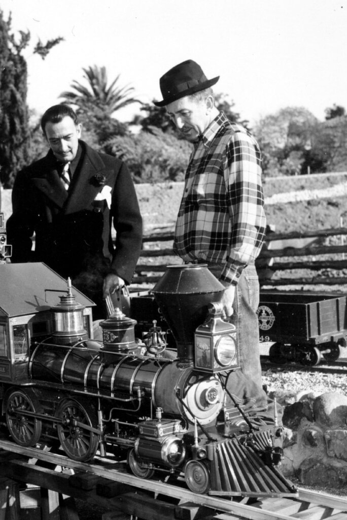 Salvador Dali; Walt Disney