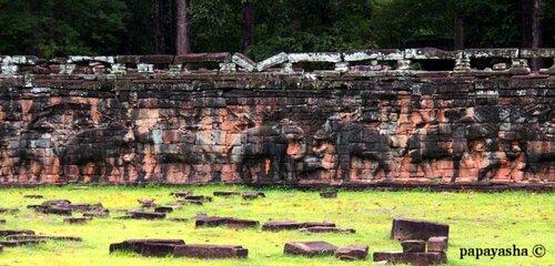 терасса слонов, город Ангкор ТхОМ