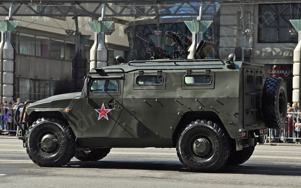 """ГАЗ-2975 """"Тигр"""" / GAZ 2975 """"Tigr"""". © 2012. Андрей Крюченко / Andrey Kryuchenko"""