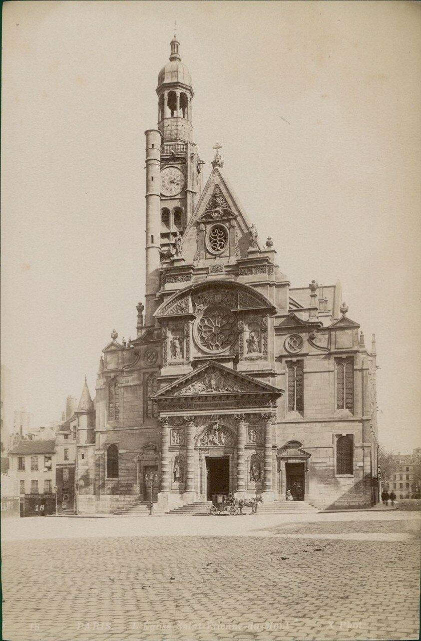 Церковь Сент-Этьен-дю-Мон