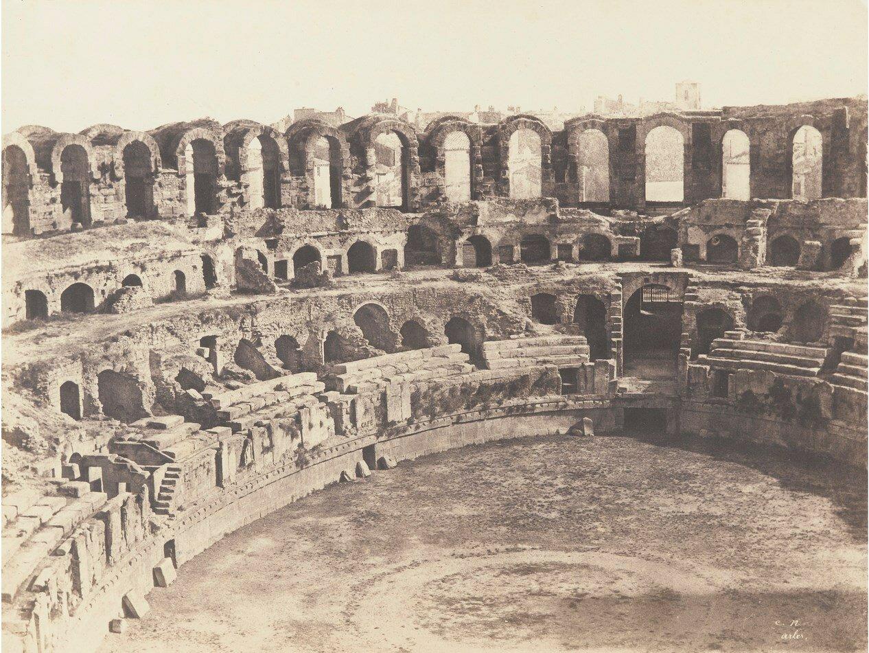 Арль. Амфитеатр. 1852