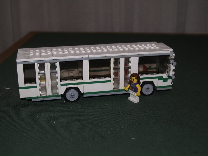 Как сделать автобус лиаз из лего