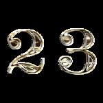 серебрянный алфавит клипарт