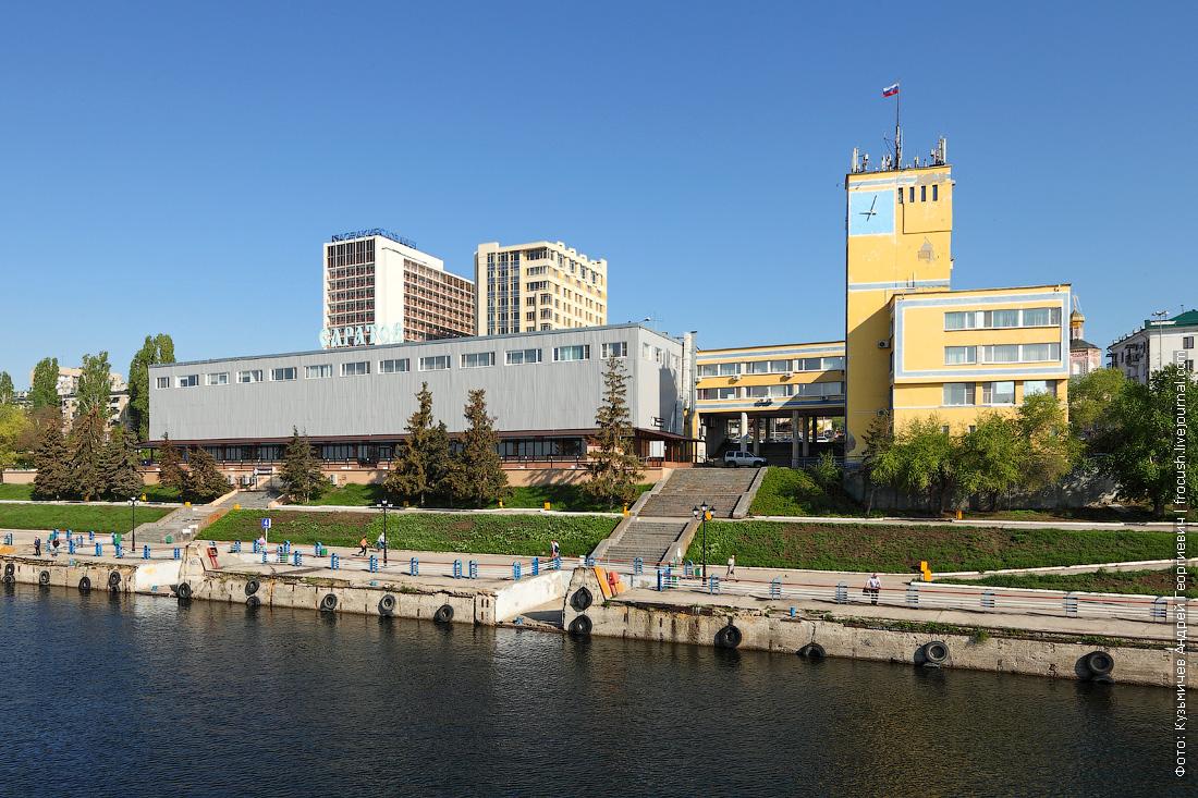 речной вокзал Саратова