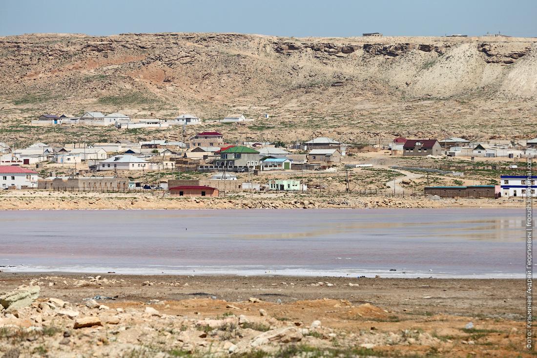 Баутино соленое озеро