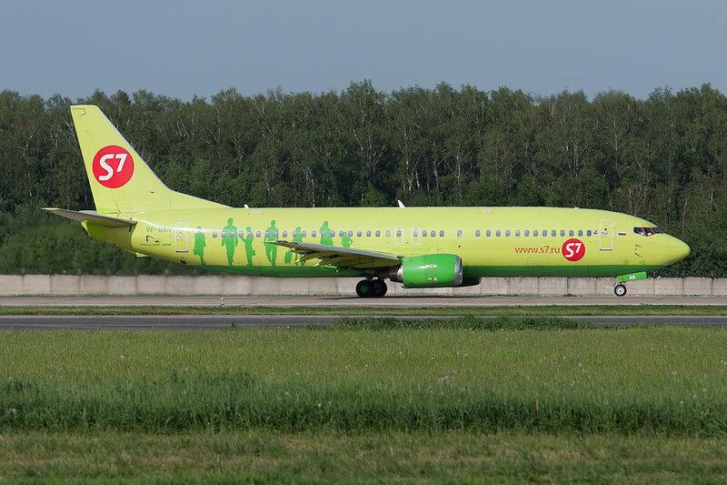 Boeing 737-4Y0 (VP-BAN) S7 DSC0404