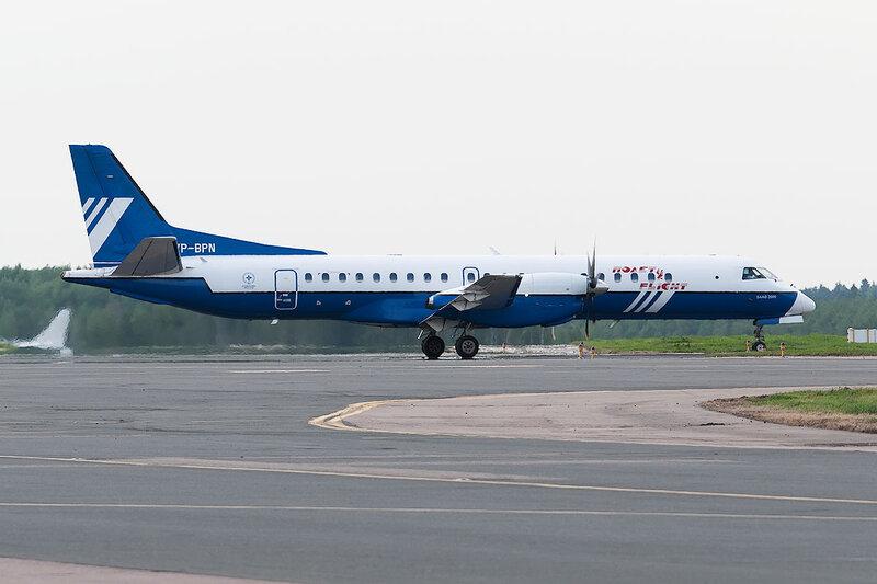 Saab 2000 (VP-BPL) Полет DSC0417