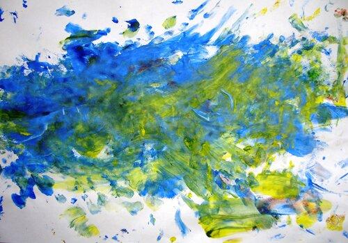 Рисунки красками. Автор: Вероника Иванова