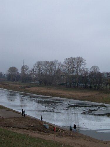 4 ноября 2014. Вологда. Вид на реку Вологда