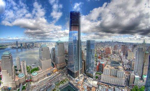 Всемирный торговый центр 1 (One World Trade Center), или Башня Свободы  (Freedom Tower) — центральное здание в новом комплексе Всемирного торгового  центра, ... 57035415779