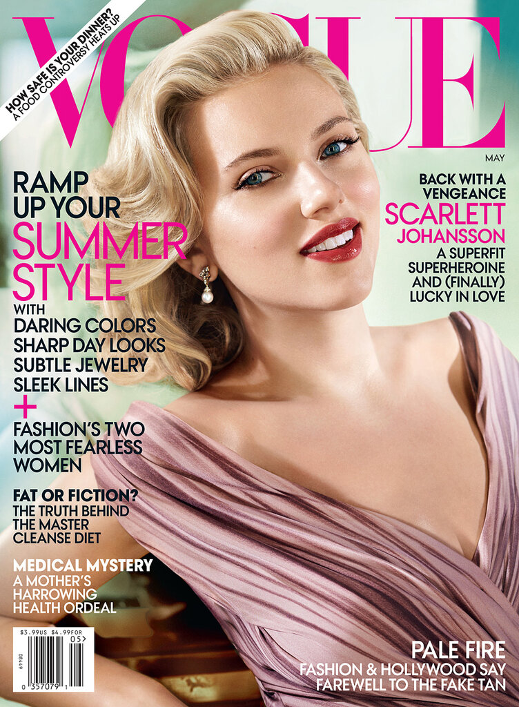Скарлетт Йоханссон (Scarlett Johansson) май 2012