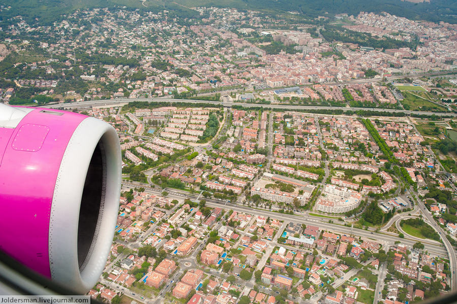 город сверху
