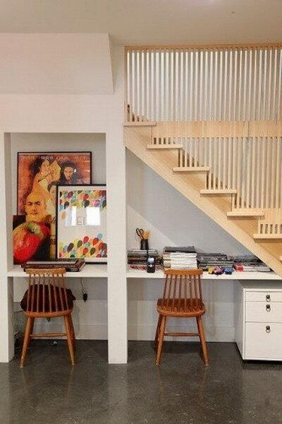 интернет-магазин купить стулья, кухонные столы, кухонные стулья, кухонные стулья купить, модные интерьеры 2012, мои2м, мои2м.ру, идеи для интерьера, стол и стул под лестницей