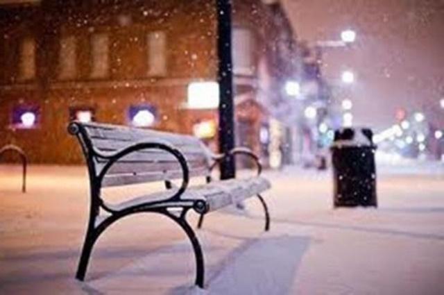 «В январском поле снег былинный...»
