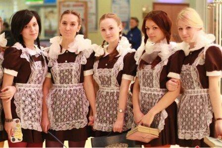 Школьное платье 80 годов