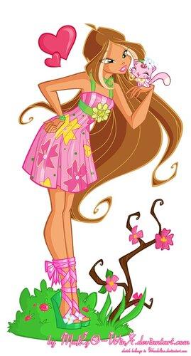 Винкс игра-одевалка девушки для Танца живота