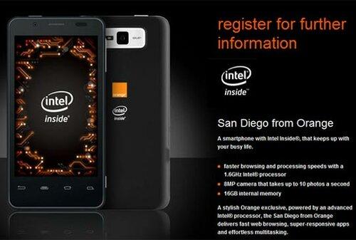 «San Diego» Intel Atom-смартфон