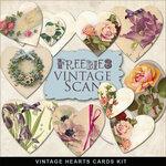 Vintage Hearts Set