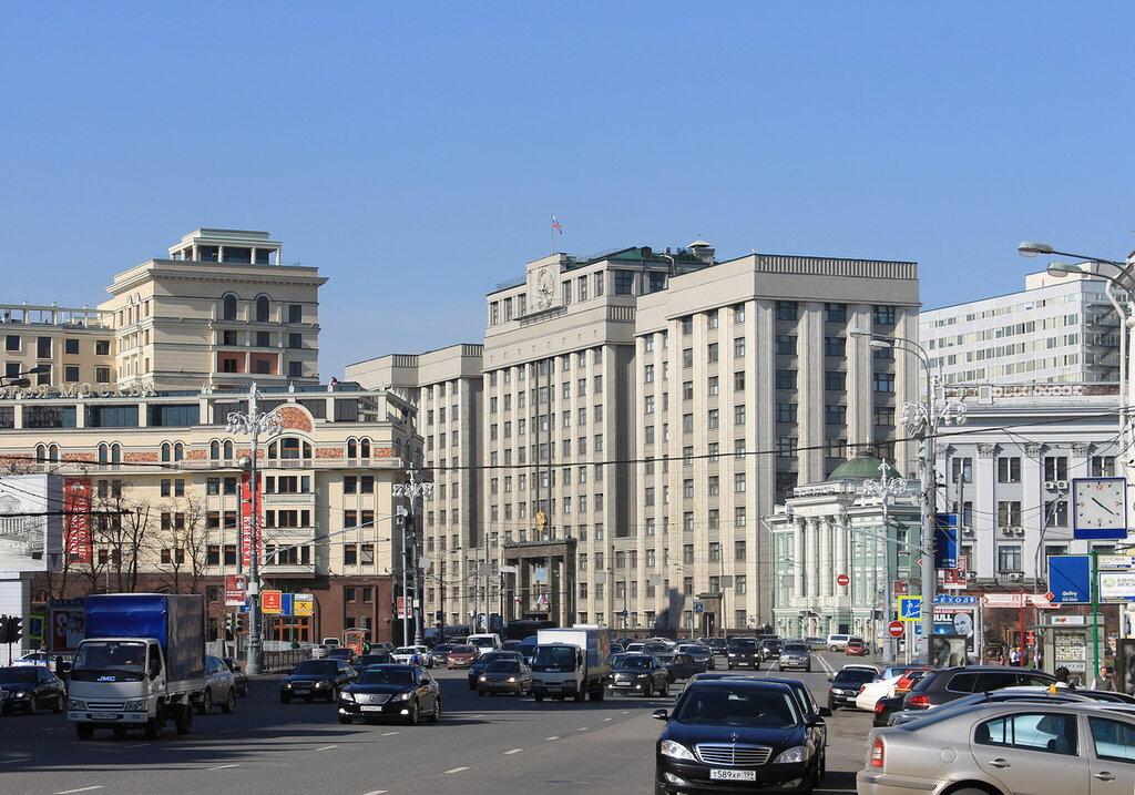 Москва, Охотный ряд