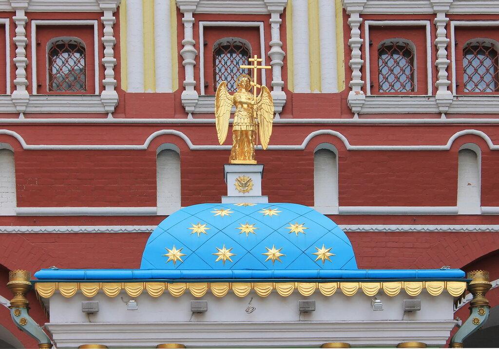 Москва. Красная площадь, Воскресенские ворота, часовня Иконы Божией Матери Иверской