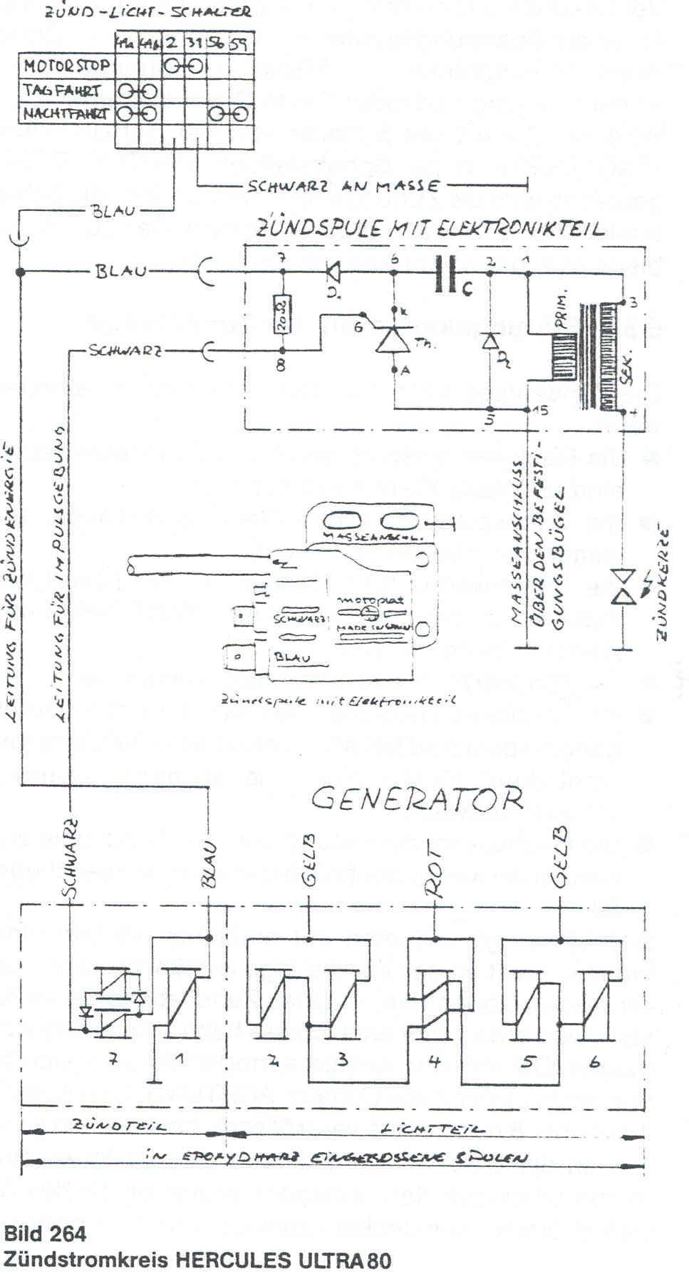 коммутатор 96.3734 зажигания схема подключения