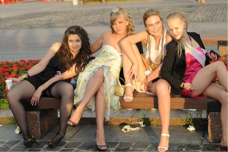 Секси выпускницы 2010