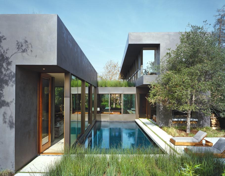 Резиденция Vienna Way в Лос-Анджелесе от Marmol Radziner