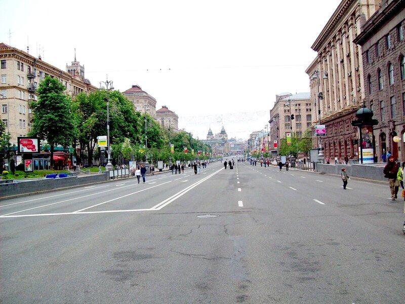 Крещатик в День Победы 2012