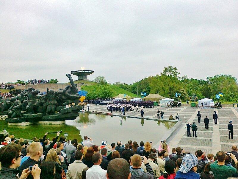 Парад 9 мая 2012 года в Киеве