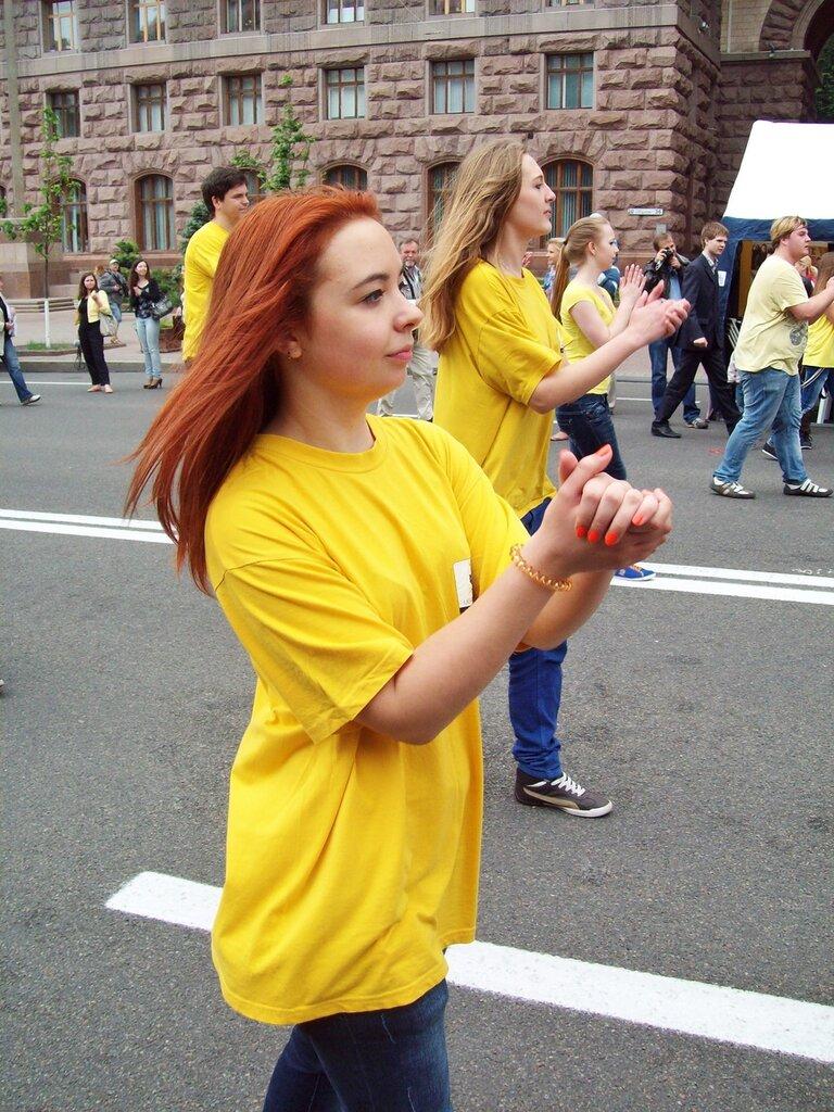 Европейский парад 2012 по Крещатику