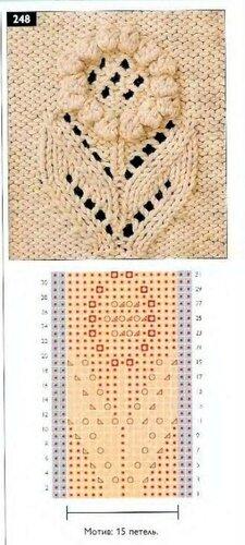 Салфетка  Вязание крючком и спицами модели и схемы с