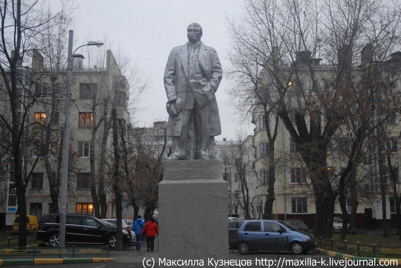 Побитый Ленин