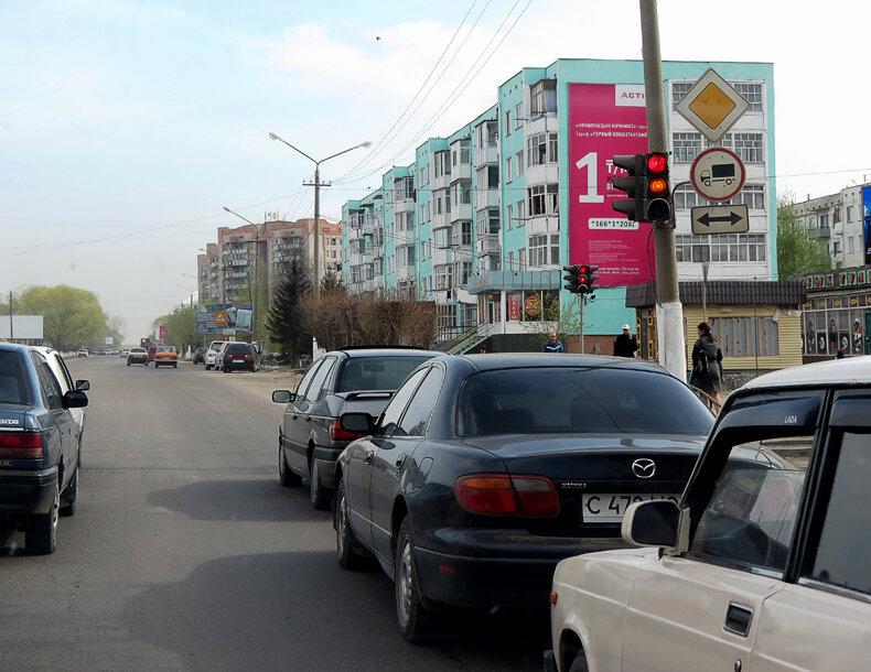 Щучинск, ул.Ауэзова - 2012 год. Комментарии к фото - Кокшетау Онлайн