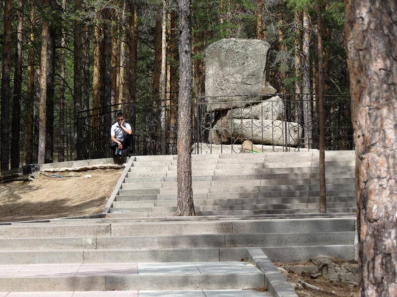"Боровое. Поляна Абылай-хана, ""каменный трон Абылай хана"" - 2012 год. Комментарии к фото - Кокшетау Онлайн"