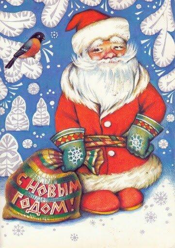 "Схема вышивки  ""Дед Мороз "": схема."