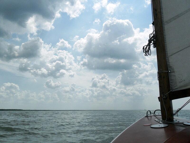 На яхте, июнь 2011