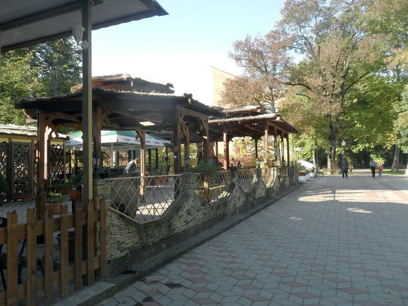 В парке Горячего Ключа, октябрь 2011