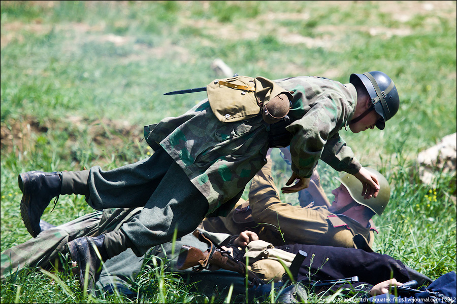 Реконструкция штурма Сапун-горы 7 мая 1944 года