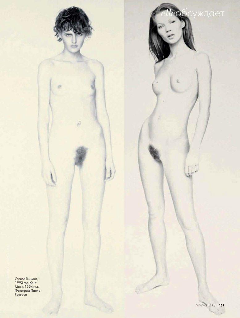 Фотограф Paolo Roversi - Stella Tennant / Стелла Теннант, 1993 год. Kate Moss / Кейт Мосс, 1994 год
