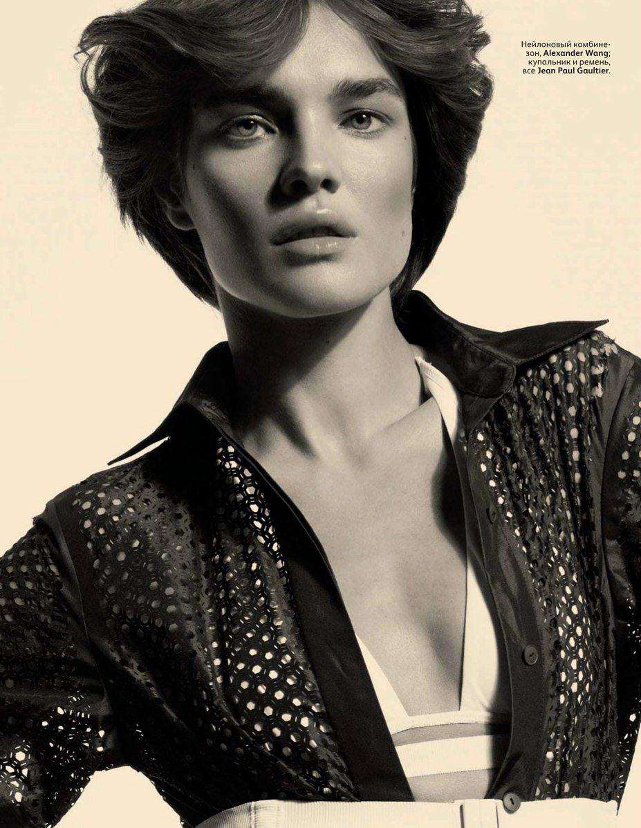 Natalia Vodianova / Наталья Водянова в журнале Vogue Россия, июнь 2012 / фотограф Cuneyt Akeroglu