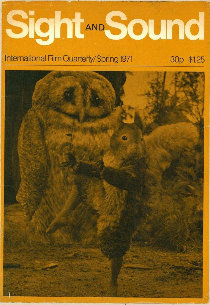 "1971. Squirrel Nutkin (Wayne Sleep) in the Royal Ballet Film ""Tales of Beatrix Potter"""