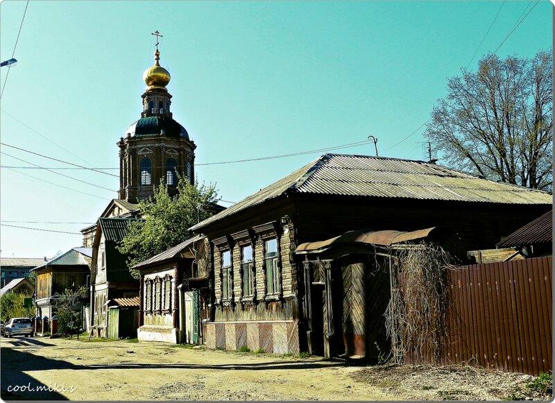 Вознесенский храм в городе Туле.